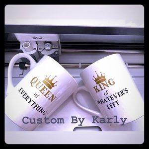 Other - Custom Queen and King Mugs